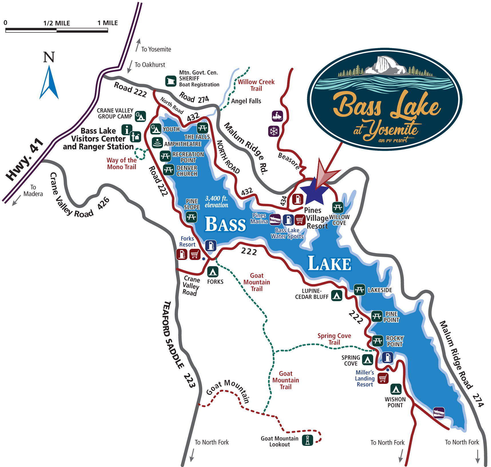 bass_lake_at_yosemite_area_map